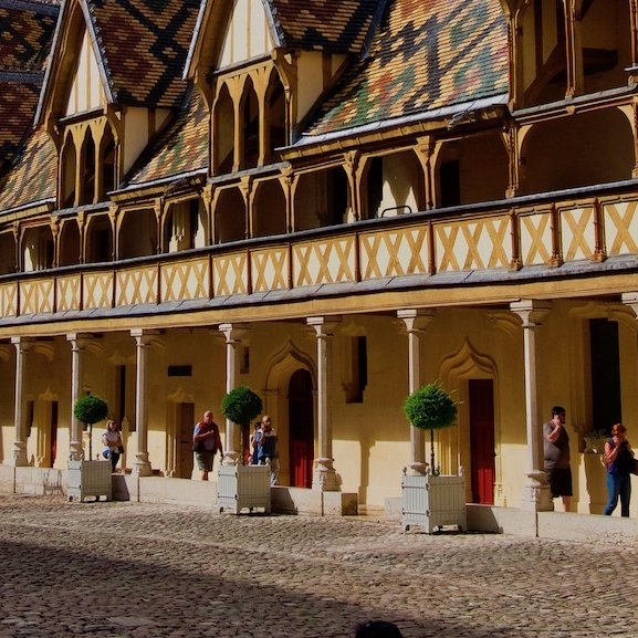 Hospice de Beaune - French  Barge Vacations