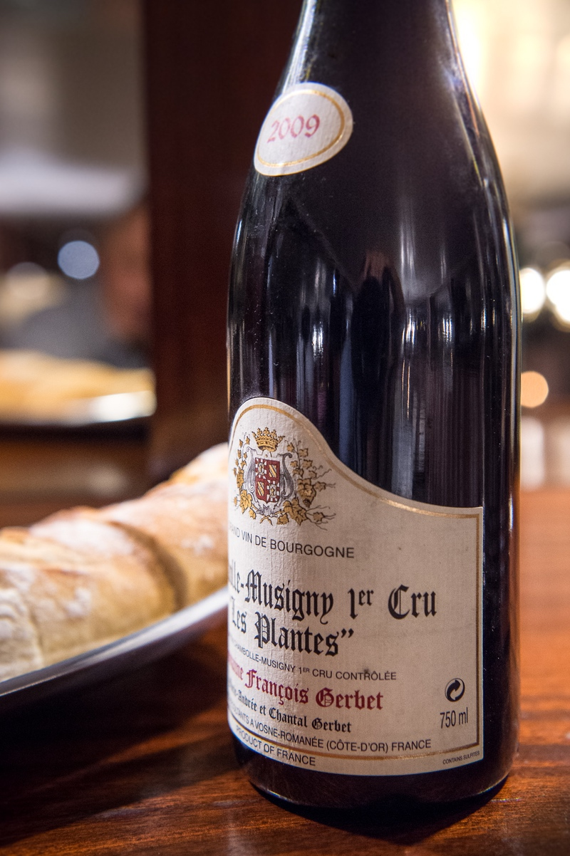 The complexity of Burgundy wines