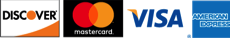 discover network - mastercard - visa - american express